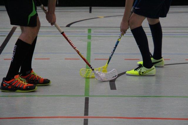 Fotos vom Floorballtraining Februar 2016