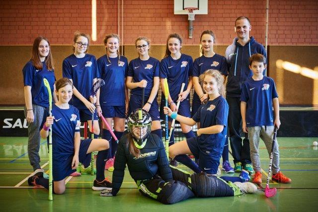 FBC Dragons U15 Damen erster Spieltag in Linz