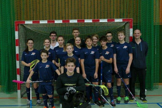 FBC Dragons U15 erster Meisterschaftstag am 10. Dezember in Wien