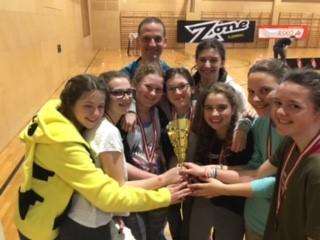 FBC Dragons U15 Damen holen sich den 3. Platz in der österreichischen Meisterschaft