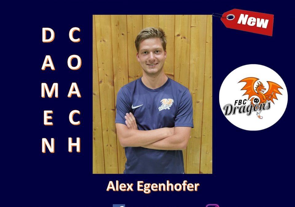 Alex Egenhofer wird Bundesligatrainer der FBC Dragons Damenmannschaft