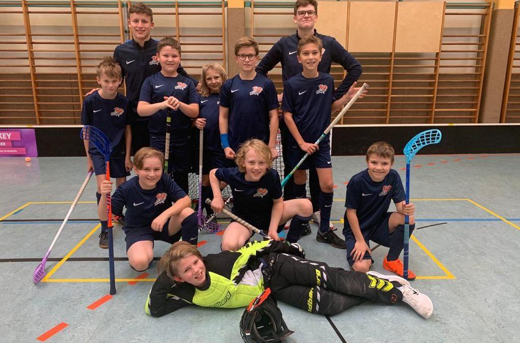 FBC Dragons U12 erfolgreich in die österreichische Meisterschaft gestartet