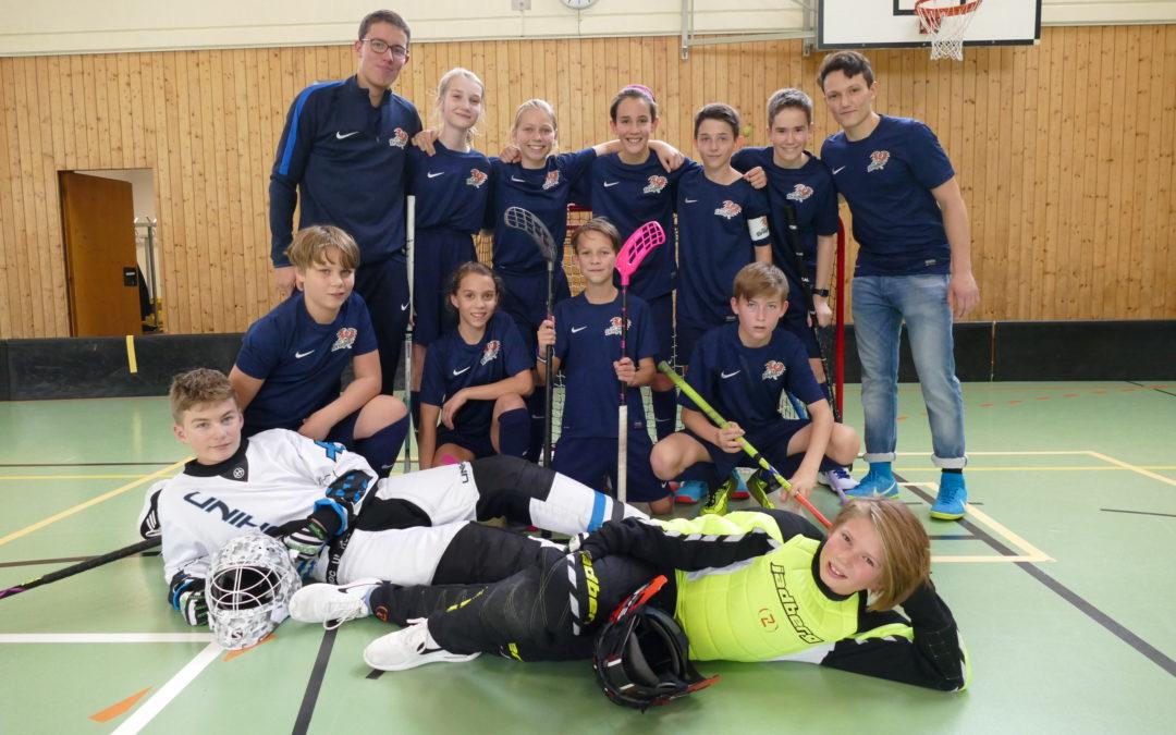 FBC Dragons U14 dominiert österreichische Floorballmeisterschaft