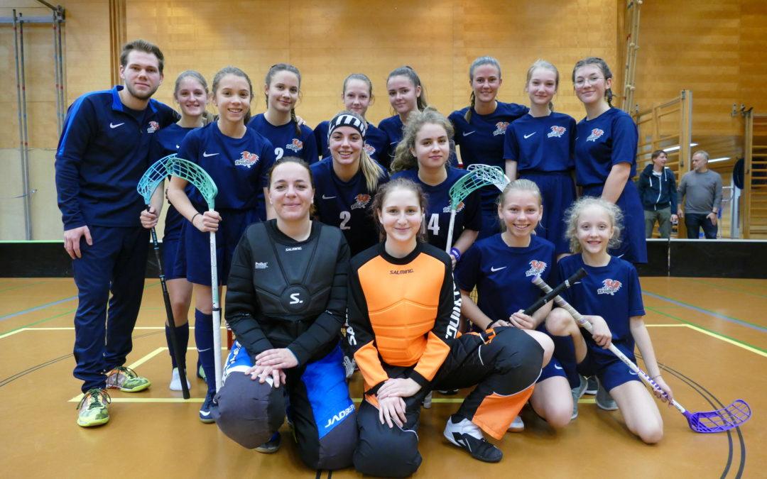 FBC Dragons starten in die Damen Wiener Grossfeldmeisterschaft