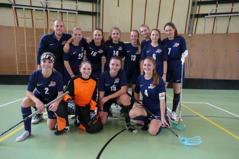 FBC Dragons startet mit viel Elan in die Floorball Damen Bundesliga