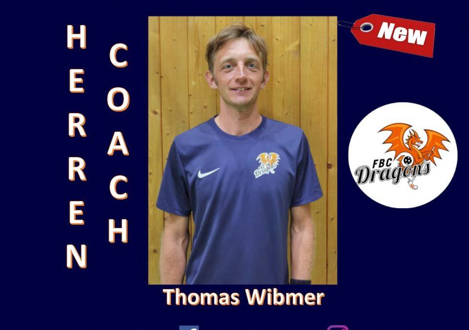 Thomas Wibmer wird Bundesligatrainer der FBC Dragons Herrenmannschaft